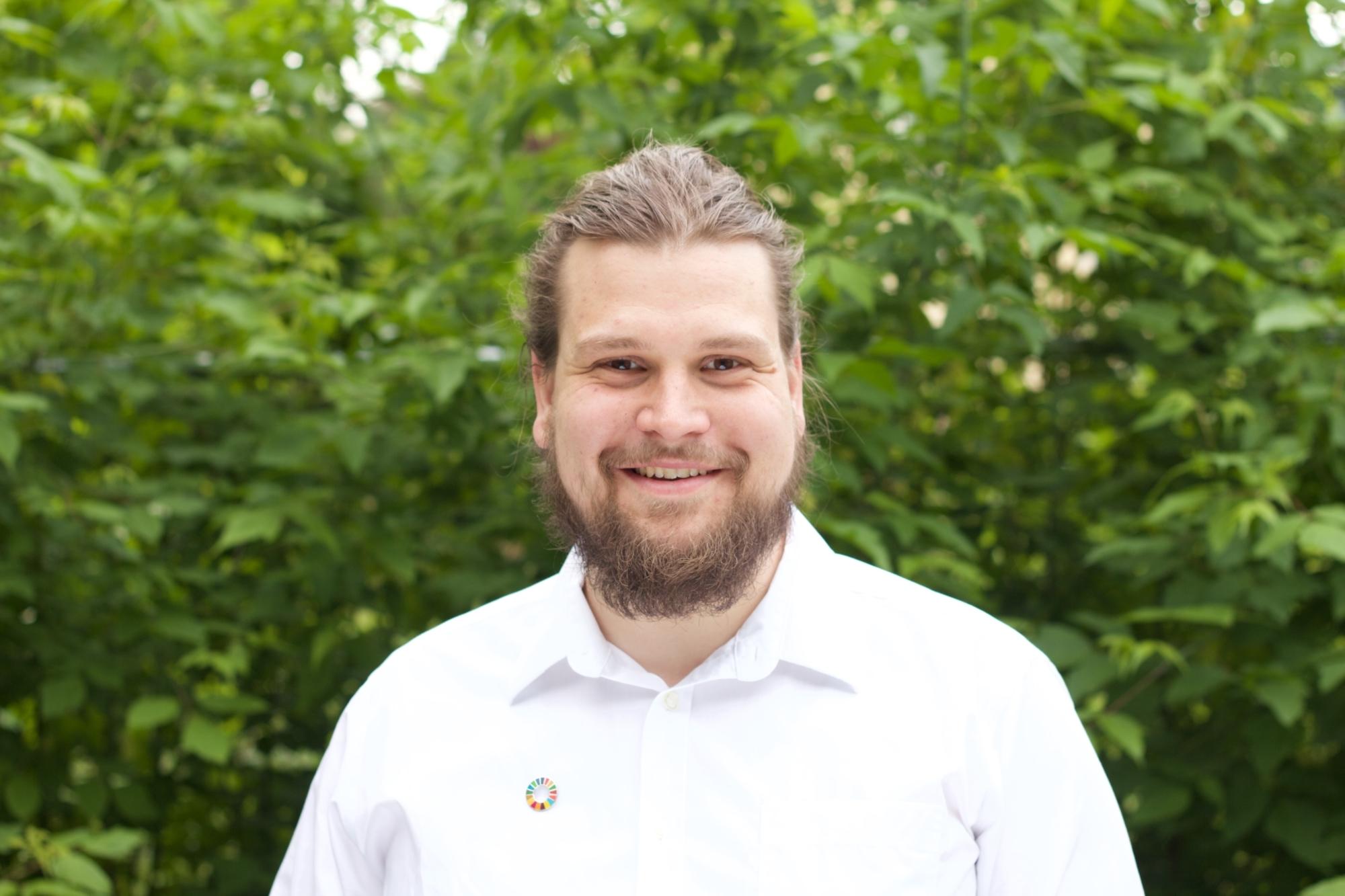 SDG Botschafter Lukas