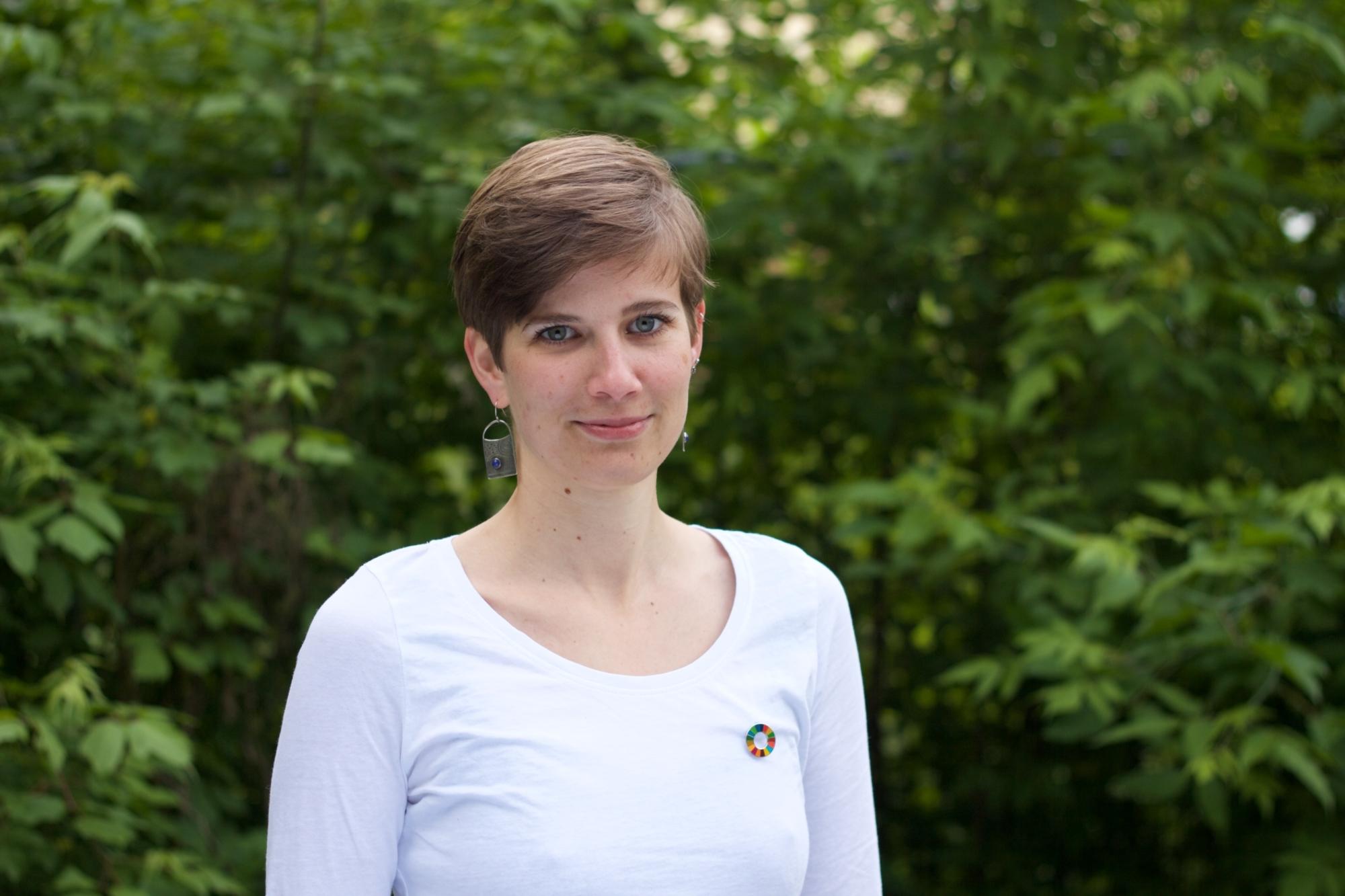 SDG Botschafterin Ariane